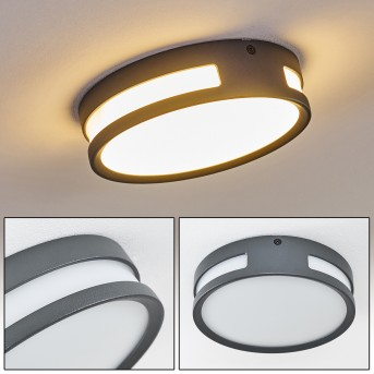 Chiavari Illuminazione esterna LED Antracite, 1-Luce