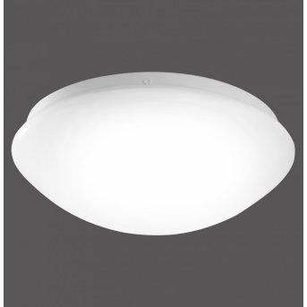 Leuchten-Direkt ANDREA-LED Plafoniera Bianco, 1-Luce