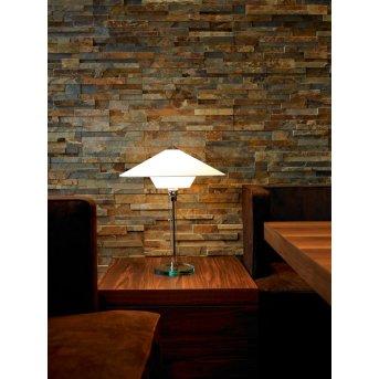 Tecnolumen Wagenfeld 28 Lampada da tavolo Nichel opaco, Trasparente, chiaro, 1-Luce