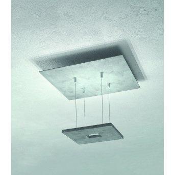 Escale ZEN D2W Plafoniera LED Grigio, 4-Luci