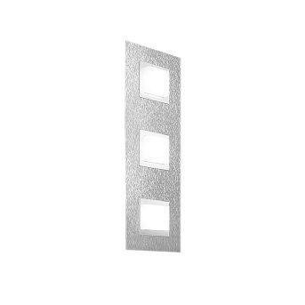 Grossmann BASIC Plafoniera LED Alluminio, 3-Luci