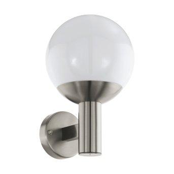 Eglo connect NISIA Applique da esterno LED Acciaio inox, 1-Luce