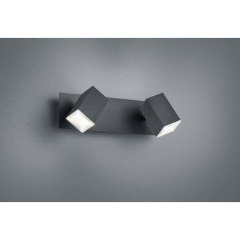 Trio LAGOS Applique LED Nero, 2-Luci