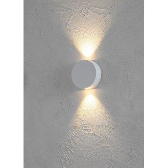 Escale SUN Applique LED Bianco, 2-Luci