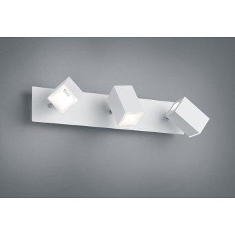 Trio LAGOS Applique LED Nichel opaco, 3-Luci