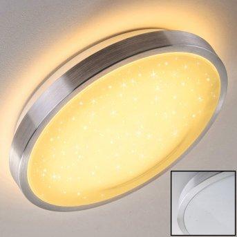 Sora Star Plafoniera LED Alluminio, 1-Luce