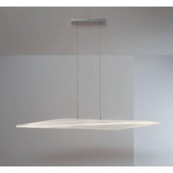 Escale Stratos Lampada a Sospensione LED Nichel opaco, 1-Luce