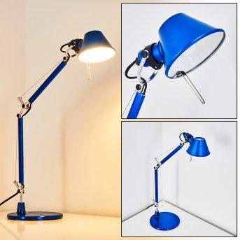 Artemide TOLOMEO MICRO Lampada da Tavolo Blu, 1-Luce