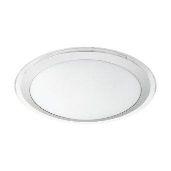 Eglo COMPETA-C Plafoniera LED Bianco, 1-Luce, Cambia colore