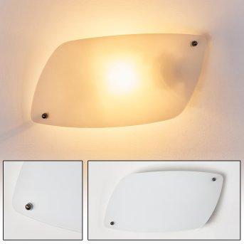 Anzio Applique Bianco, 1-Luce
