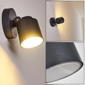 Applique da esterno Apenrader LED Antracite, 1-Luce