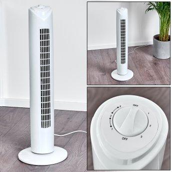 Benidorm Ventilatore da terra Bianco