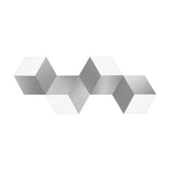 Grossmann GEO Applique e plafoniera LED Alluminio, 4-Luci