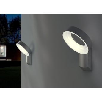 Lutec Meridian Applique da esterno LED Antracite, 1-Luce